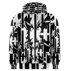 Black and white abstraction Men s Pullover Hoodie