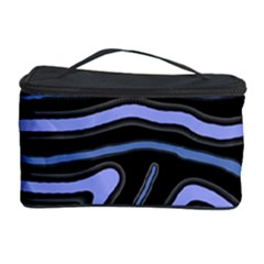 Blue abstract design Cosmetic Storage Case