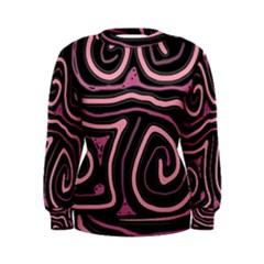 Decorative lines Women s Sweatshirt