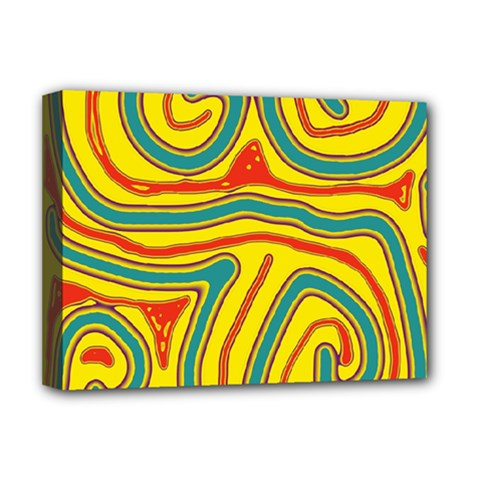 Colorful decorative lines Deluxe Canvas 16  x 12