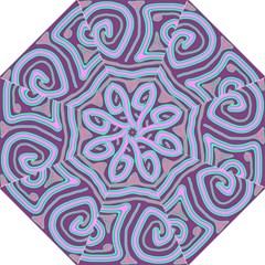 Purple lines Folding Umbrellas