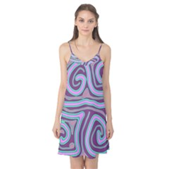 Purple lines Camis Nightgown