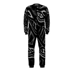 Black and white decorative design OnePiece Jumpsuit (Kids)