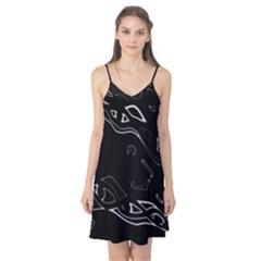 Black and white Camis Nightgown