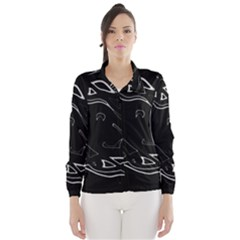 Black and white Wind Breaker (Women)