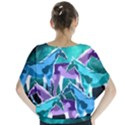 Horses under a galaxy Batwing Chiffon Blouse View2