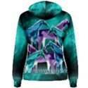 Horses under a galaxy Women s Pullover Hoodie View2
