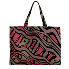 Decorative abstract art Zipper Mini Tote Bag