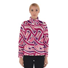 Pink And Purple Abstract Art Winterwear