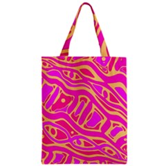 Pink abstract art Classic Tote Bag