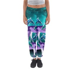 Horses Under A Galaxy Women s Jogger Sweatpants