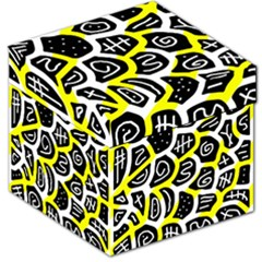 Yellow playful design Storage Stool 12
