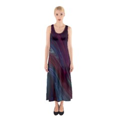 Joyful Sleeveless Maxi Dress