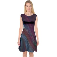 Joyful Capsleeve Midi Dress