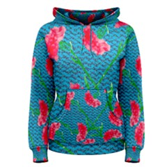 Carnations Women s Pullover Hoodie