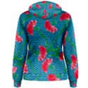 Carnations Women s Pullover Hoodie View2