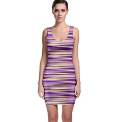 Abstract1 Sleeveless Bodycon Dress