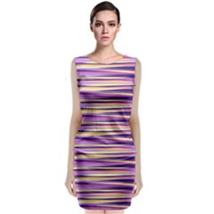 Abstract1 Classic Sleeveless Midi Dress