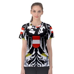 Coat Of Arms Of Austria Women s Sport Mesh Tee