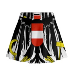 Coat of Arms of Austria Mini Flare Skirt