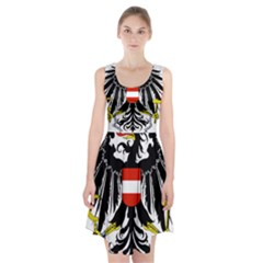 Coat Of Arms Of Austria Racerback Midi Dress