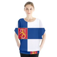 State Flag Of Finland  Blouse
