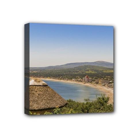 Landscape Aerial View Piriapolis Uruguay Mini Canvas 4  x 4