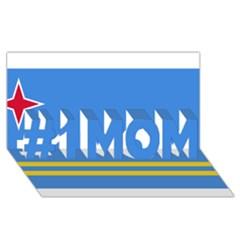 Flag Of Aruba #1 Mom 3d Greeting Cards (8x4)