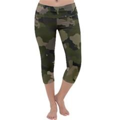 Huntress Camouflage Capri Yoga Leggings