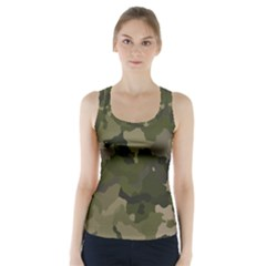 Huntress Camouflage Racer Back Sports Top