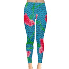 Carnations Leggings