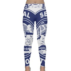 Seal of Buffalo Yoga Leggings
