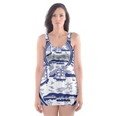 Seal Of Buffalo Skater Dress Swimsuit