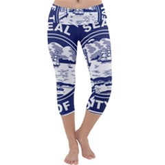 Seal of Buffalo Capri Yoga Leggings