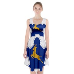 Roundel of the South African Air Force, 1958-1981 Racerback Midi Dress