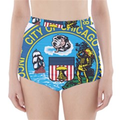 Seal of Chicago High-Waisted Bikini Bottoms