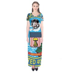 Seal of Chicago Short Sleeve Maxi Dress