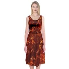 Hotlava Midi Sleeveless Dress