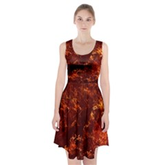 Hotlava Racerback Midi Dress