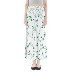 Nature pattern Maxi Skirts