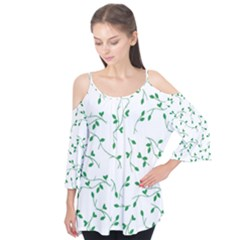 Nature pattern Flutter Tees