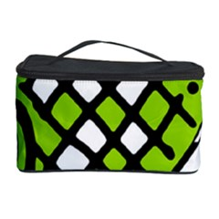 Green high art abstraction Cosmetic Storage Case