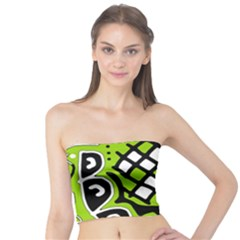 Green high art abstraction Tube Top