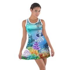 Sea Cotton Racerback Dress