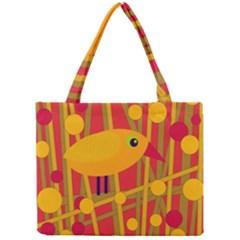 Yellow bird Mini Tote Bag