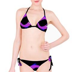Purple fishes Bikini Set