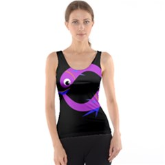 Purple fishes Tank Top