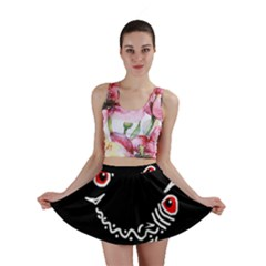 Abstract fishes Mini Skirt