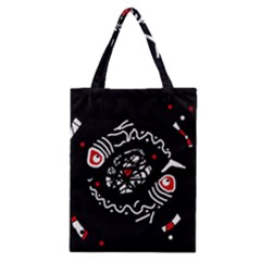 Abstract fishes Classic Tote Bag