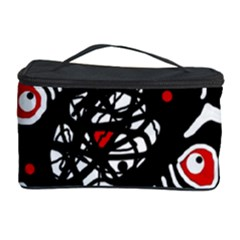 Abstract fishes Cosmetic Storage Case